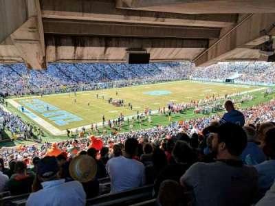 Kenan Memorial Stadium, Abschnitt: 101, Reihe: ccc, Platz: 18