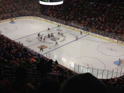 Wells Fargo Center Abschnitt 204A