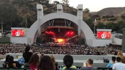 Hollywood Bowl, Abschnitt: G1, Reihe: 11, Platz: 17