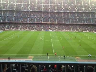 Camp Nou, Abschnitt: 305, Reihe: 19, Platz: 2