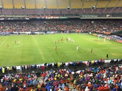 RFK Stadium, Abschnitt: M35, Reihe: 1, Platz: 7
