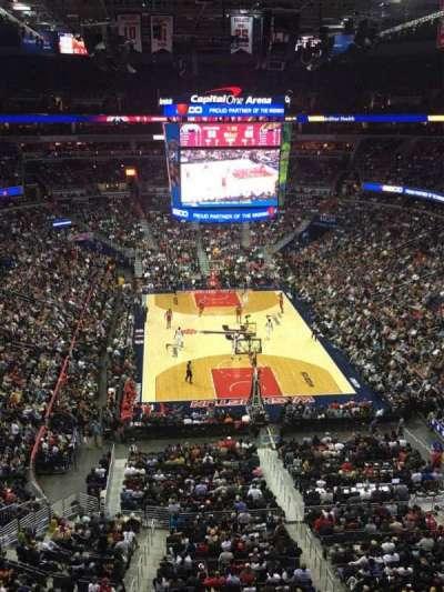 Capital One Arena, Abschnitt: 408, Reihe: A, Platz: 8