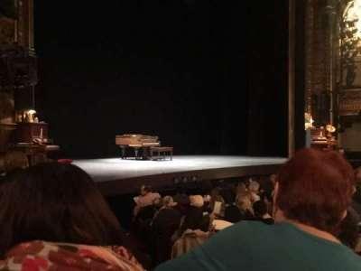 Palace Theatre (Broadway), Abschnitt: Orchestra, Reihe: L, Platz: 2
