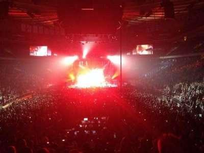Madison Square Garden, Abschnitt: 102, Reihe: 15, Platz: 13