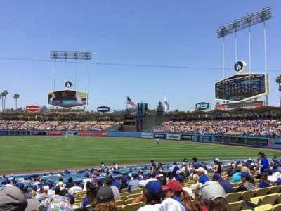 Dodger Stadium, Abschnitt: 34FD, Reihe: S, Platz: 1