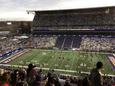Husky Stadium, Abschnitt: 328, Reihe: 34, Platz: 2