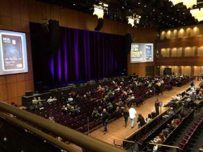 The Theater at MGM National Harbor, Abschnitt: 202, Reihe: A, Platz: 9
