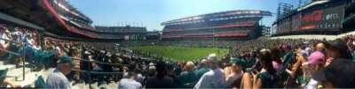 Lincoln Financial Field, Abschnitt: 126, Reihe: 25, Platz: 1