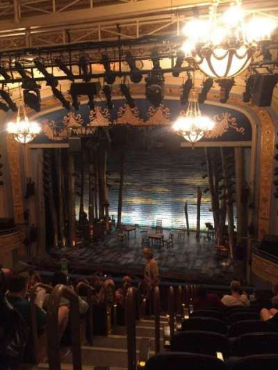 Gerald Schoenfeld Theatre, Abschnitt: Mezz, Reihe: K, Platz: 4