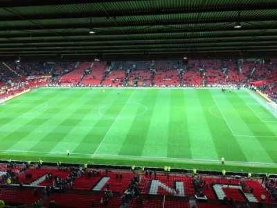 Old Trafford, Abschnitt: N4406, Reihe: 2, Platz: 63