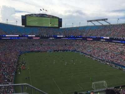 Bank of America Stadium, Abschnitt: 531, Reihe: 3, Platz: 13