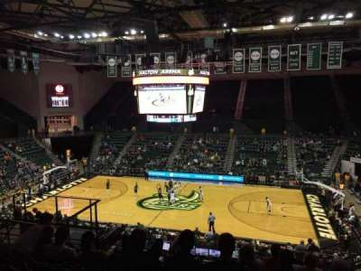 Dale F. Halton Arena, Abschnitt: 220, Reihe: K, Platz: 5