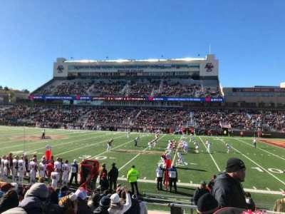 Alumni Stadium, Abschnitt: S, Reihe: 16, Platz: 1