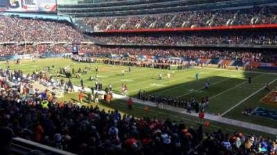 Soldier Field, Abschnitt: 231, Reihe: 3, Platz: 15
