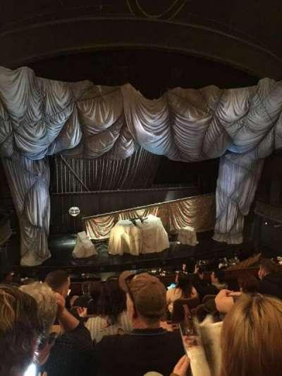 Majestic Theatre, Abschnitt: FMEZO, Reihe: G, Platz: 2