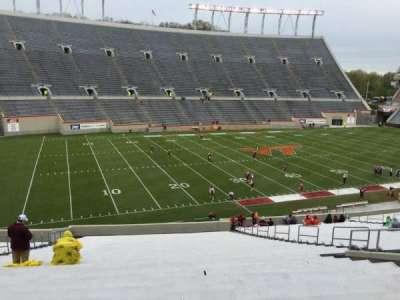 Lane Stadium, Abschnitt: 204, Reihe: VV, Platz: 26