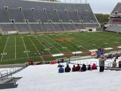 Lane Stadium, Abschnitt: 6, Reihe: XX, Platz: 16