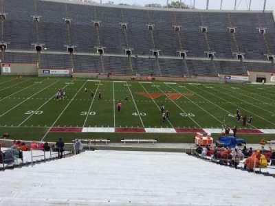 Lane Stadium, Abschnitt: 8, Reihe: MM, Platz: 16