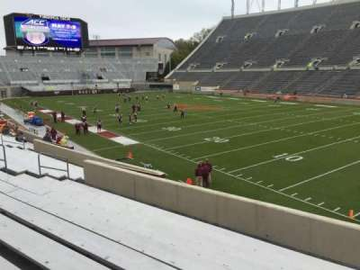 Lane Stadium, Abschnitt: 20, Reihe: X, Platz: 11
