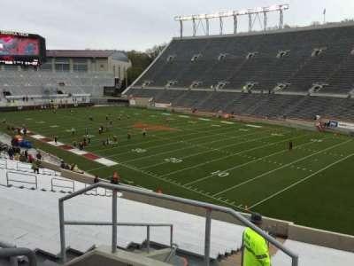 Lane Stadium, Abschnitt: 20, Reihe: Rr, Platz: 4