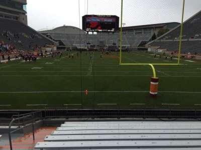 Lane Stadium, Abschnitt: 103, Reihe: M, Platz: 27