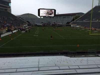 Lane Stadium, Abschnitt: 104, Reihe: R, Platz: 16