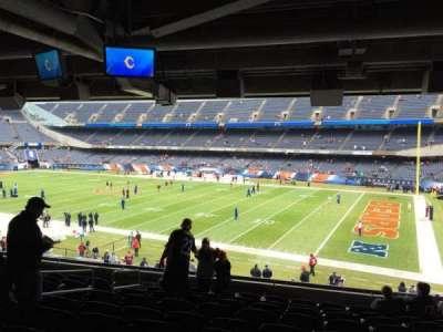 Soldier Field, Abschnitt: 231, Reihe: 10, Platz: 8
