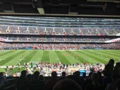 Soldier Field, Abschnitt: 239, Reihe: 7, Platz: 3