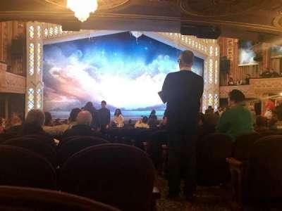 Eugene O'Neill Theatre, Abschnitt: ORCHL, Reihe: R, Platz: 1