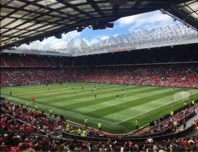 Old Trafford, Abschnitt: E230, Reihe: 22, Platz: 60