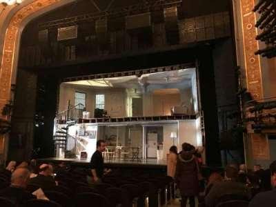 Gerald Schoenfeld Theatre, Abschnitt: Orchestra, Reihe: M, Platz: 2