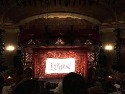 St. James Theatre, Abschnitt: Mezzanin, Reihe: M, Platz: 107