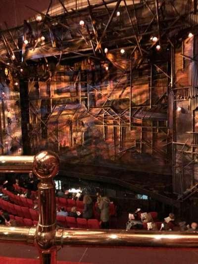 Broadway Theatre - 53rd Street, Abschnitt: Mezzanine, Reihe: A, Platz: 1