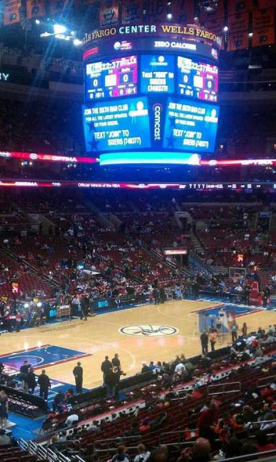 Wells Fargo Center Abschnitt CB10