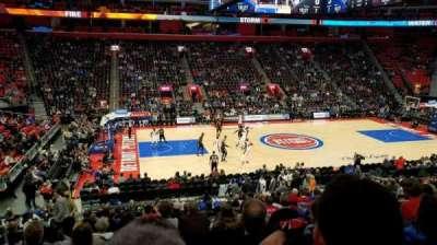 Little Caesars Arena, Abschnitt: 111, Reihe: 19, Platz: 14