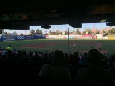Cashman Field, Abschnitt: 9, Reihe: ZZ, Platz: 1-2
