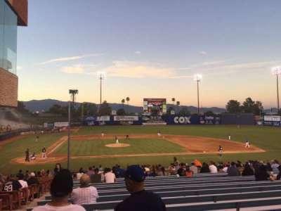 Cashman Field, Abschnitt: 16, Reihe: ZZ, Platz: 5-6
