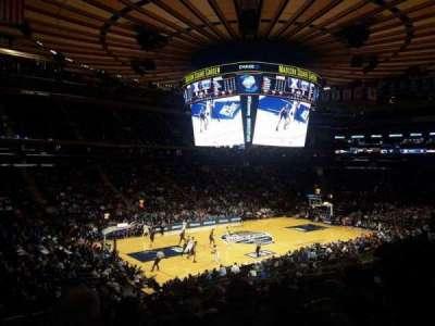 Madison Square Garden, Abschnitt: 115, Reihe: 20, Platz: 1