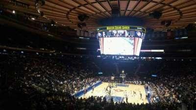 Madison Square Garden, Abschnitt: 103, Reihe: 20, Platz: 22