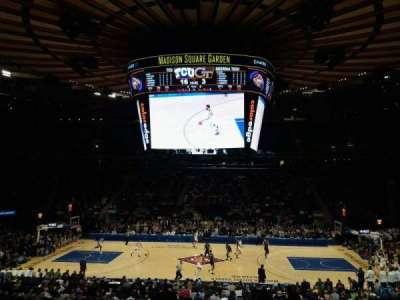 Madison Square Garden, Abschnitt: 107, Reihe: 20, Platz: 16