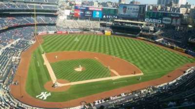 Yankee Stadium, Abschnitt: 419, Reihe: 1, Platz: 1