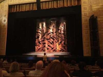 Auditorium Theatre, Abschnitt: Orchrc, Reihe: L, Platz: 205