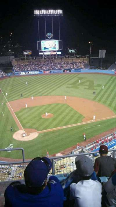 Dodger Stadium, Abschnitt: 8TD, Reihe: F, Platz: 2