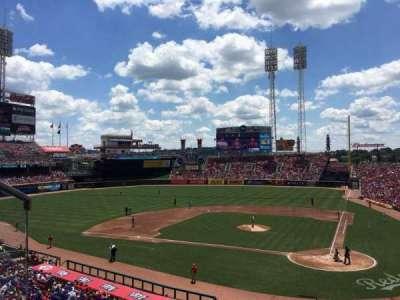 Great American Ball Park, Abschnitt: 220, Reihe: A, Platz: 7