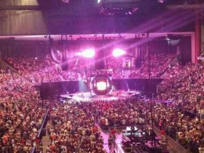 Jacksonville Veterans Memorial Arena, Abschnitt: 109, Reihe: CC, Platz: 3