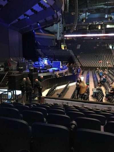 Bridgestone Arena, Abschnitt: 114, Reihe: JJ, Platz: 14