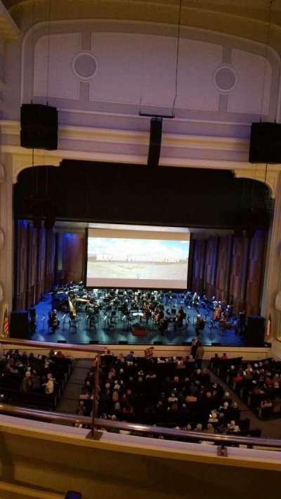 Bass Performance Hall, Abschnitt: Mezzanine Center, Reihe: C (3rd row), Platz: 2