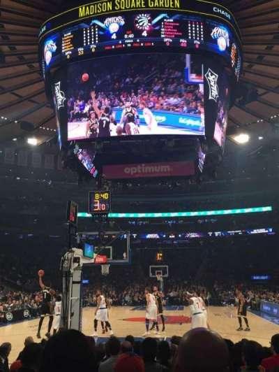 Madison Square Garden, Abschnitt: 2, Reihe: 9, Platz: 18