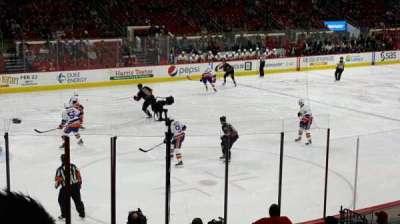 PNC Arena, Abschnitt: 123, Reihe: r, Platz: 8