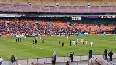 RFK Stadium, Abschnitt: 212, Reihe: 14, Platz: 7